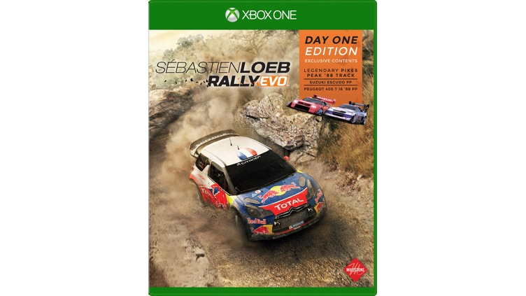 buy s bastien loeb rally evo day one edition for xbox one. Black Bedroom Furniture Sets. Home Design Ideas