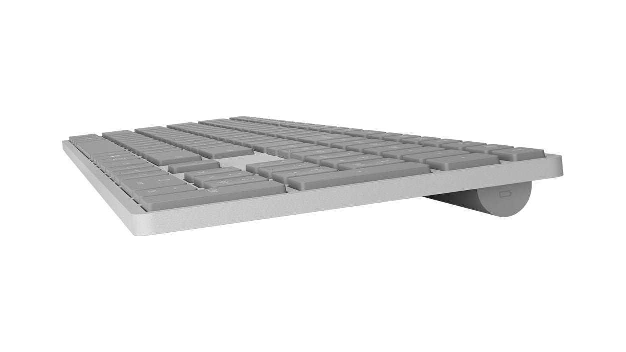 Surface Keyboard side view