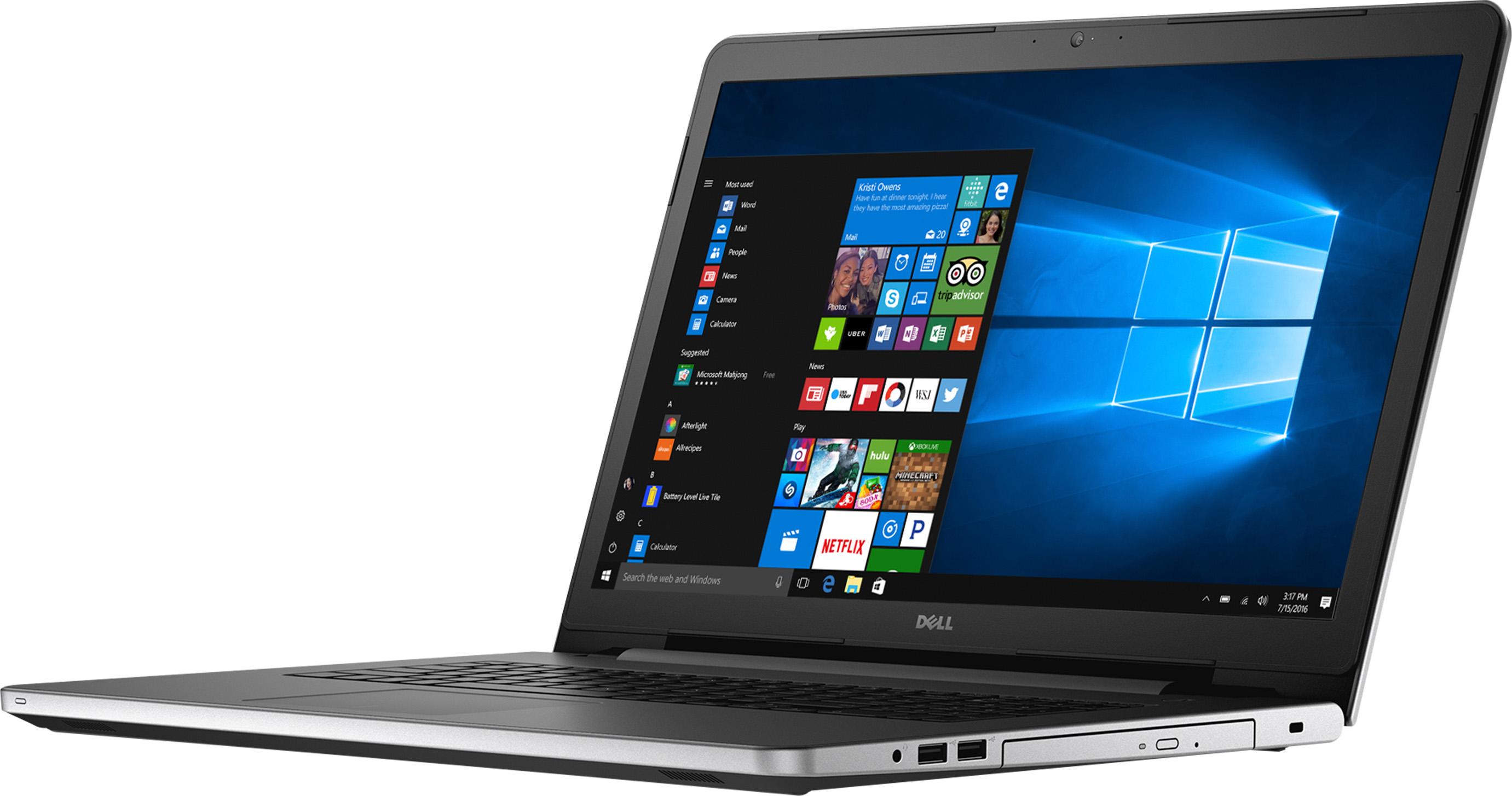 Dell Inspiron 17 i5759-8837SLV Signature Edition Laptop