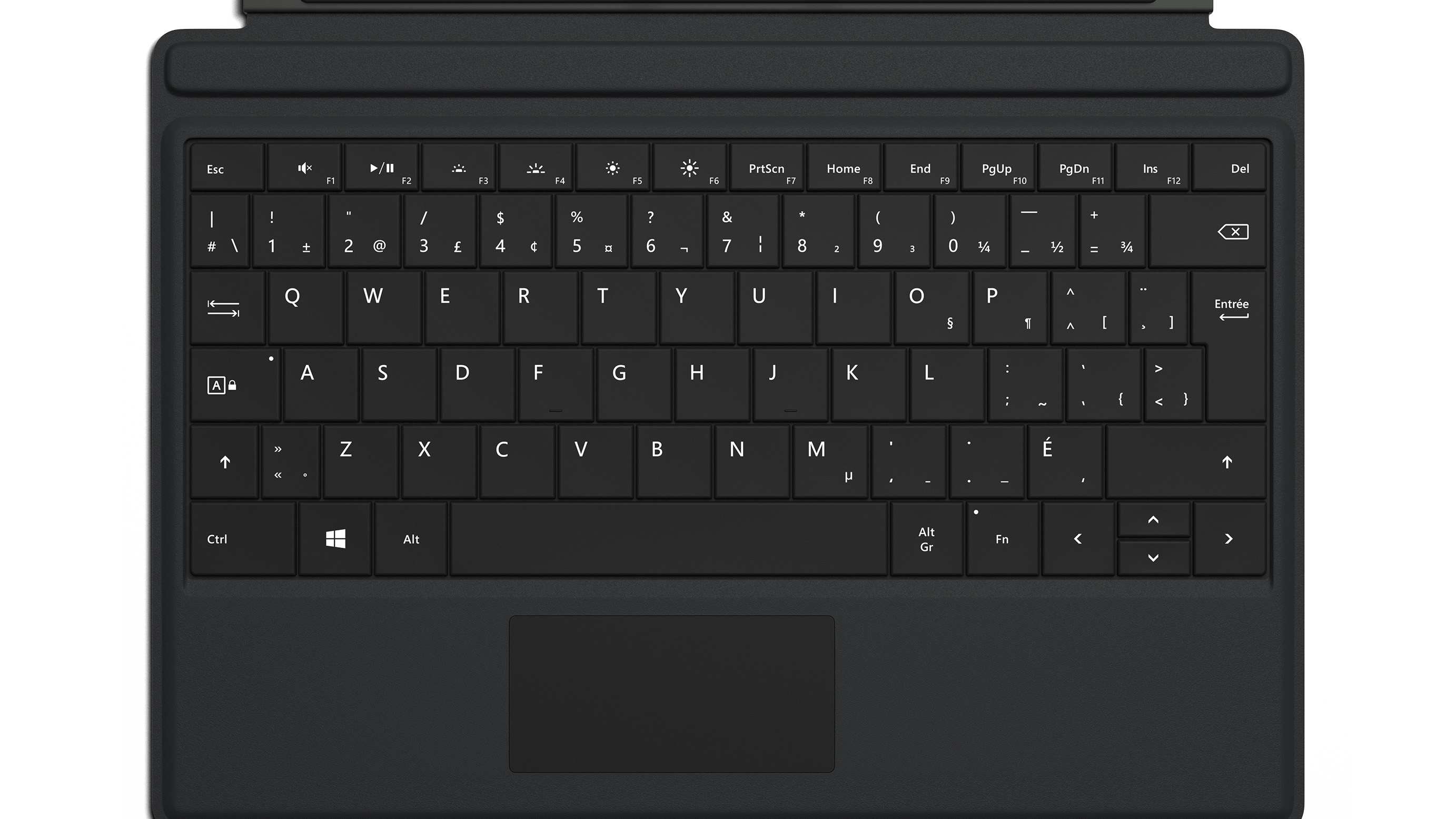 Surface 3 Type Cover (Black - French)