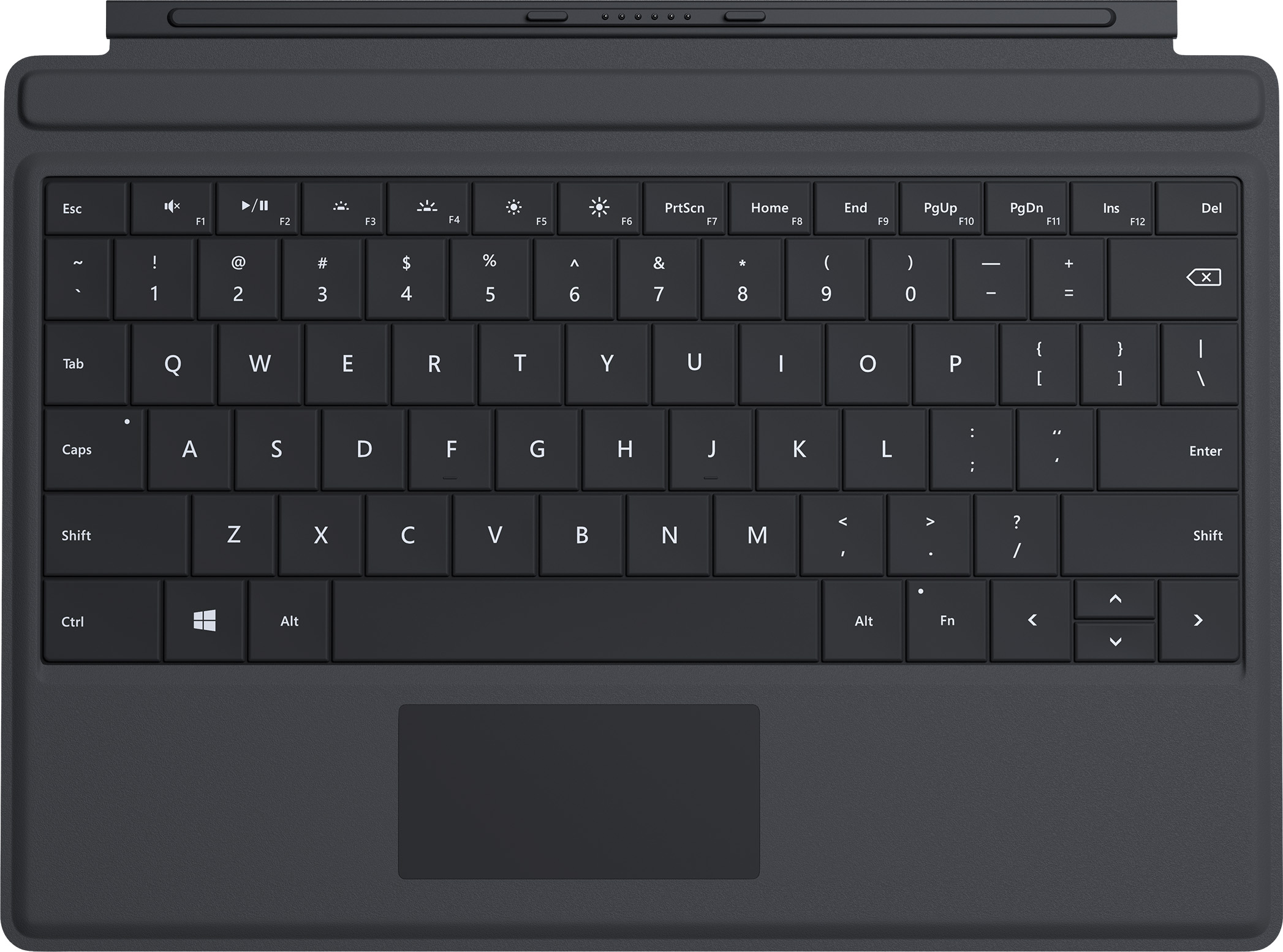 Surface 3 Type Cover (Black - English)