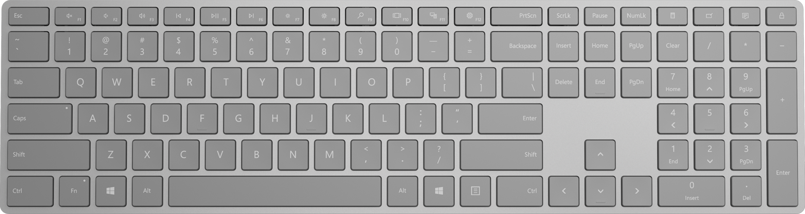 Surface Keyboard - English  How To Install A Code On Your Website?