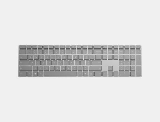 Surface Keyboard top view