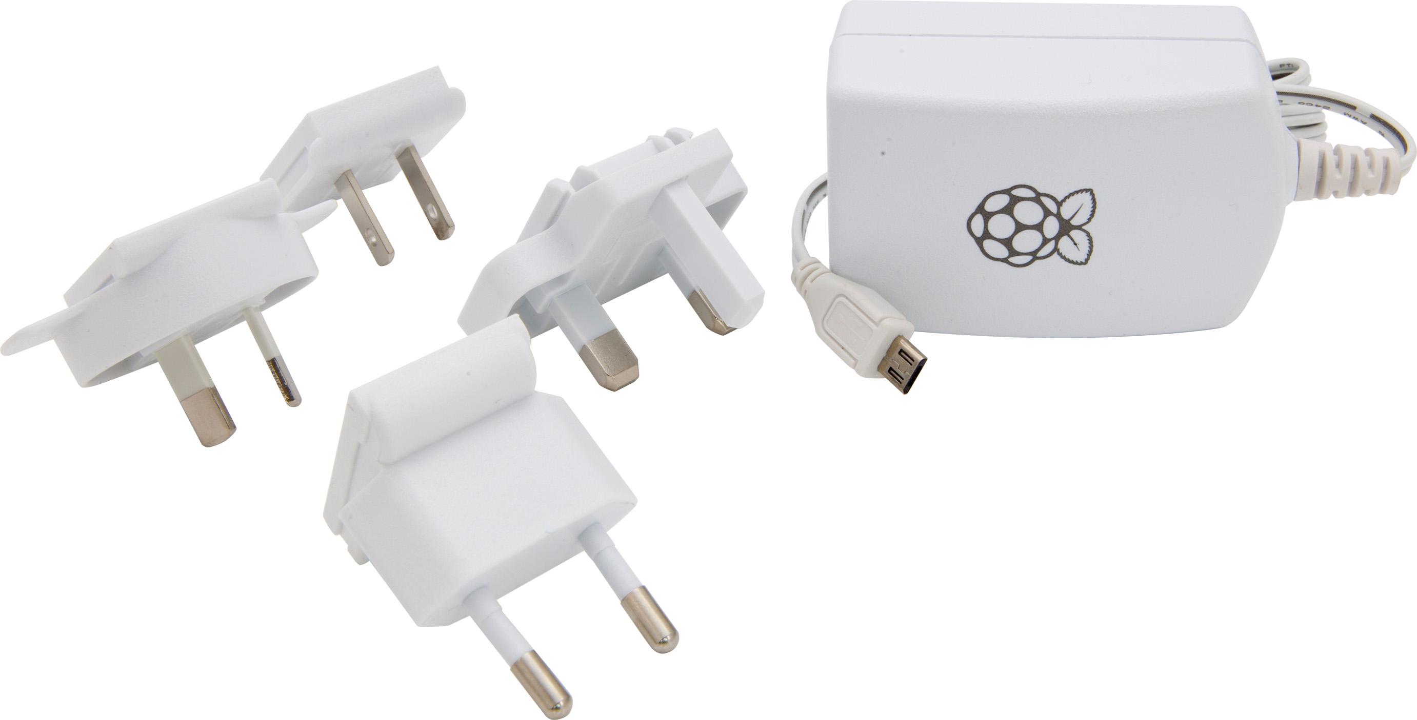 Stontronics 2.5A Micro-USB Power Supply for Raspberry Pi 3 - T5875DV