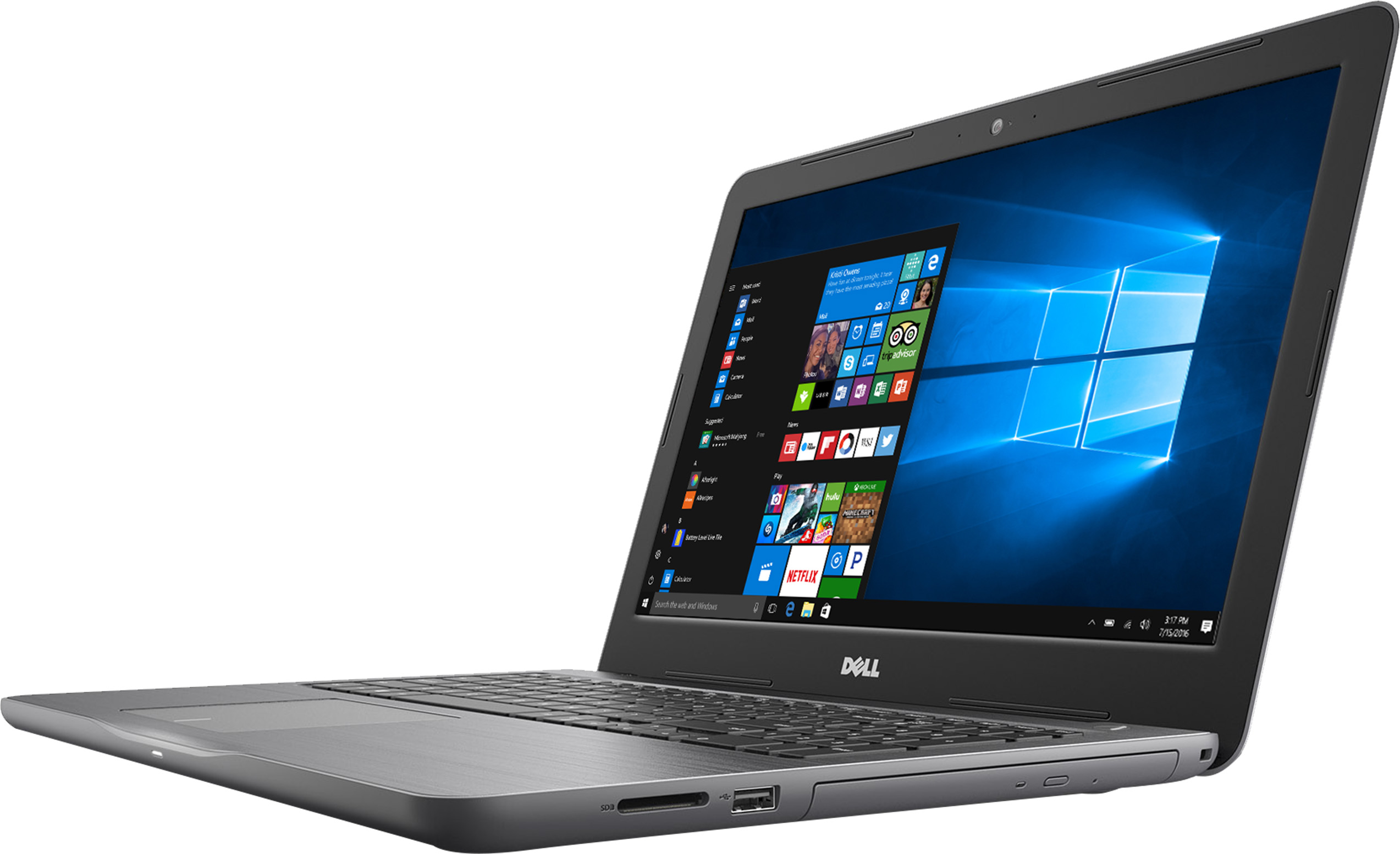 Dell Inspiron 15 5000 Series 5565-i5565-2517GRY Signature Edition Laptop