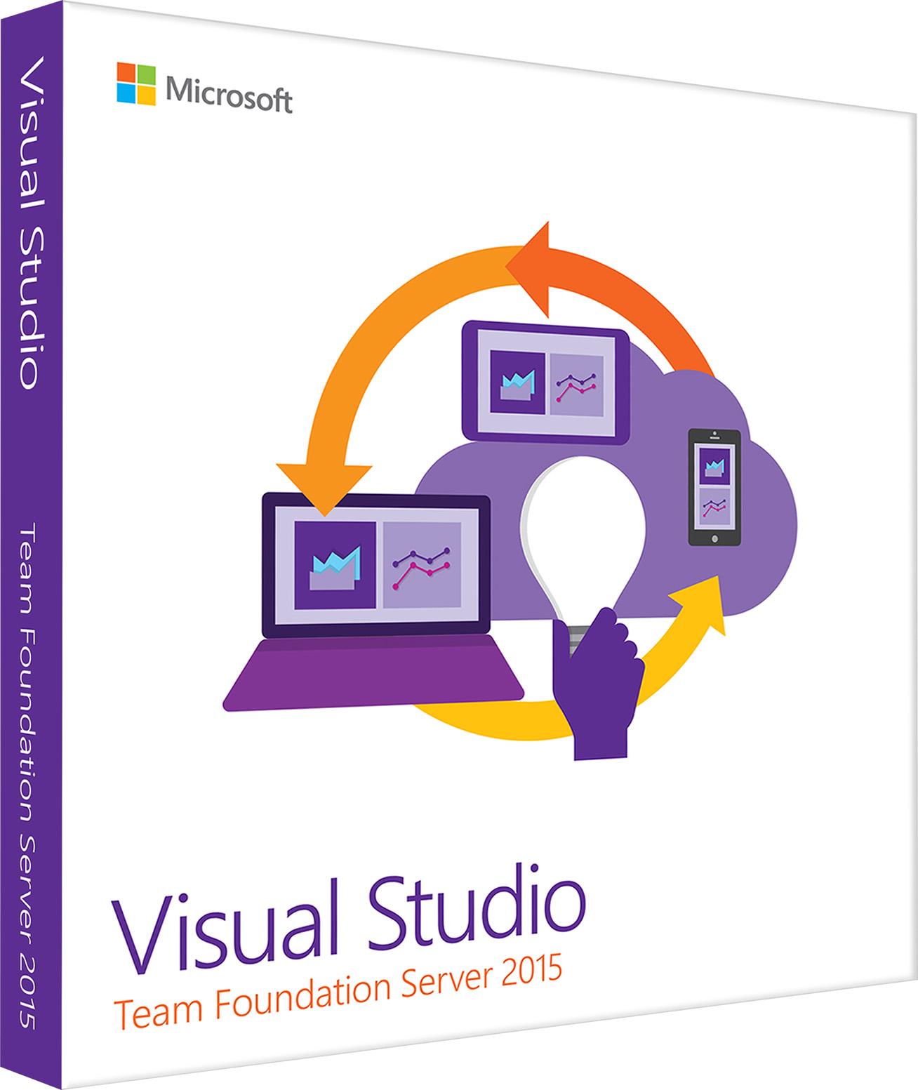 Licence d'accès client Visual Studio Team Foundation Server2015 pour un utilisateur