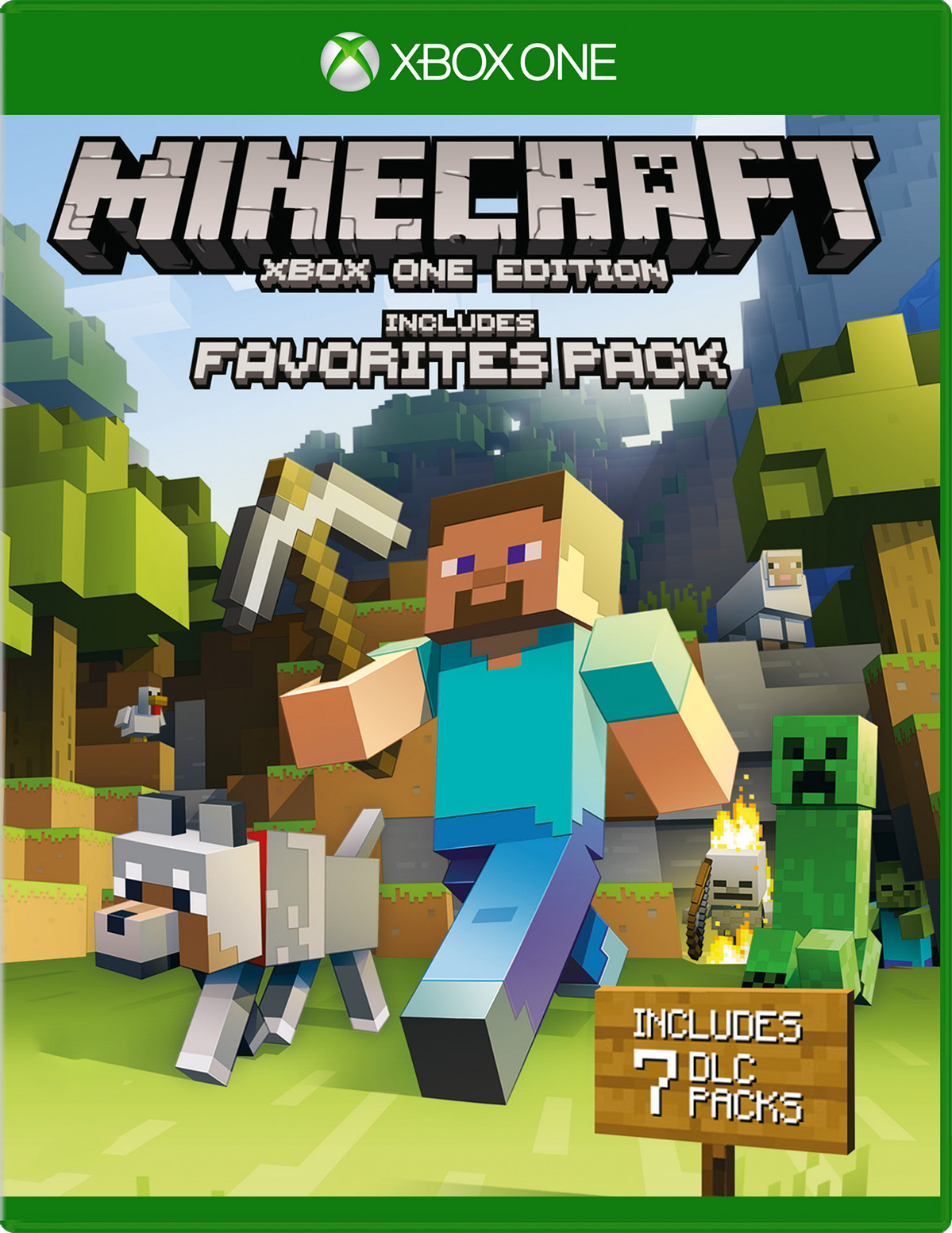 Minecraft Favorites Pack for Xbox One | Pack des favoris des adeptes de Minecraft pour Xbox One