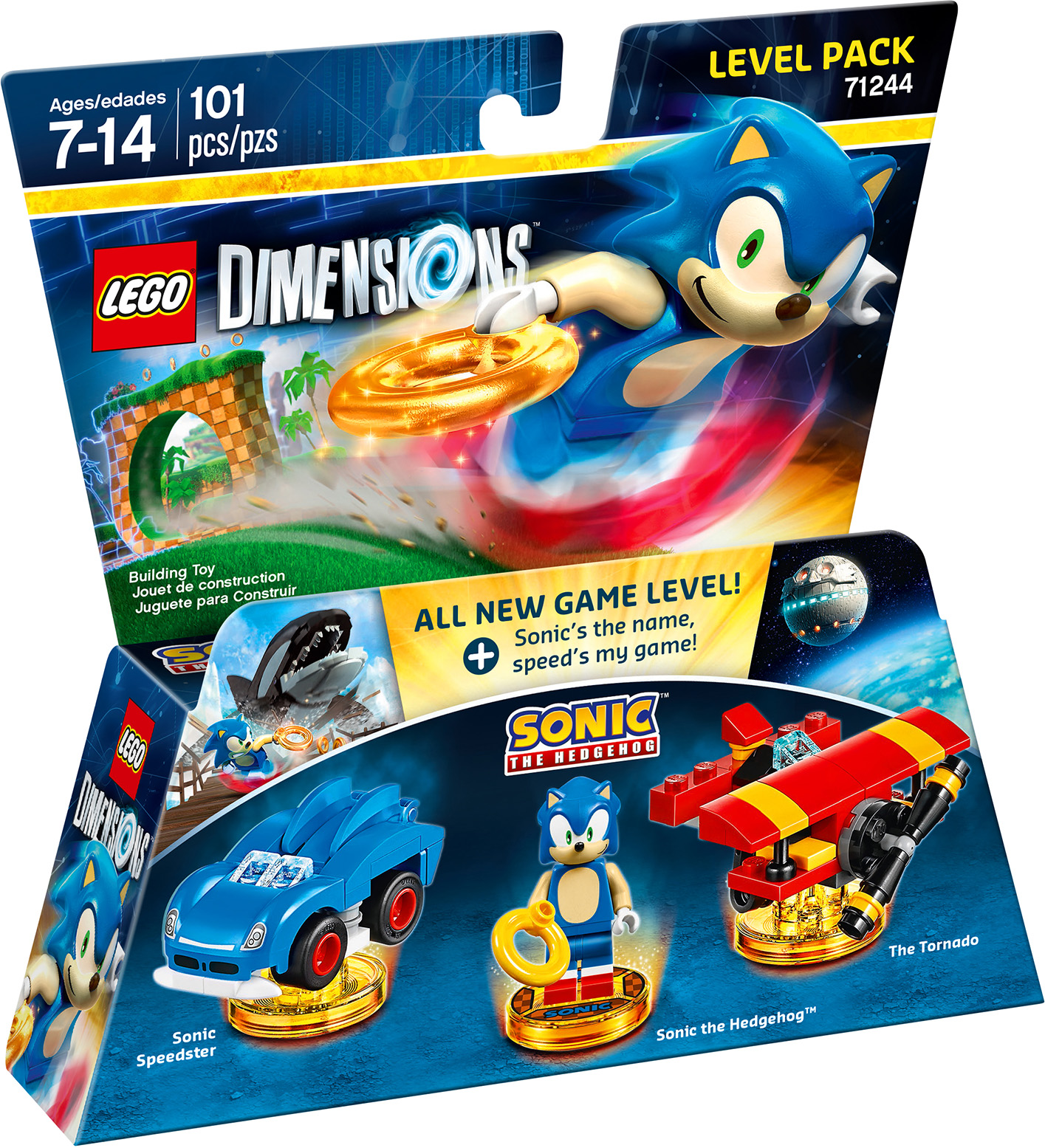 Buy LEGO Dimensions Sonic the Hedgehog Level Pack - Microsoft ...