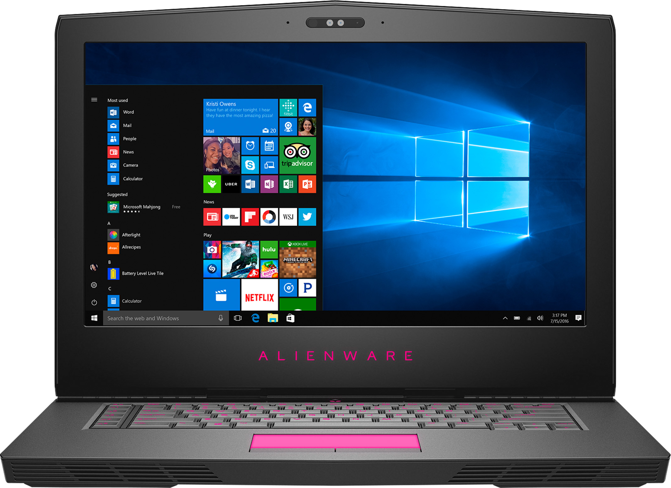 Alienware 15 R3 693HT Gaming Laptop
