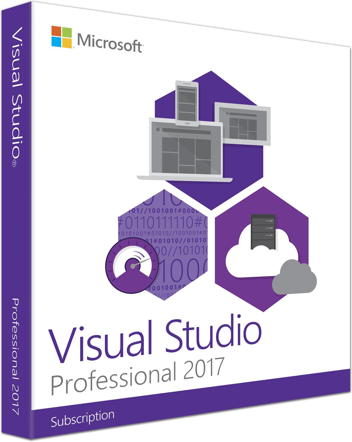 Suscripción a Visual Studio Professional