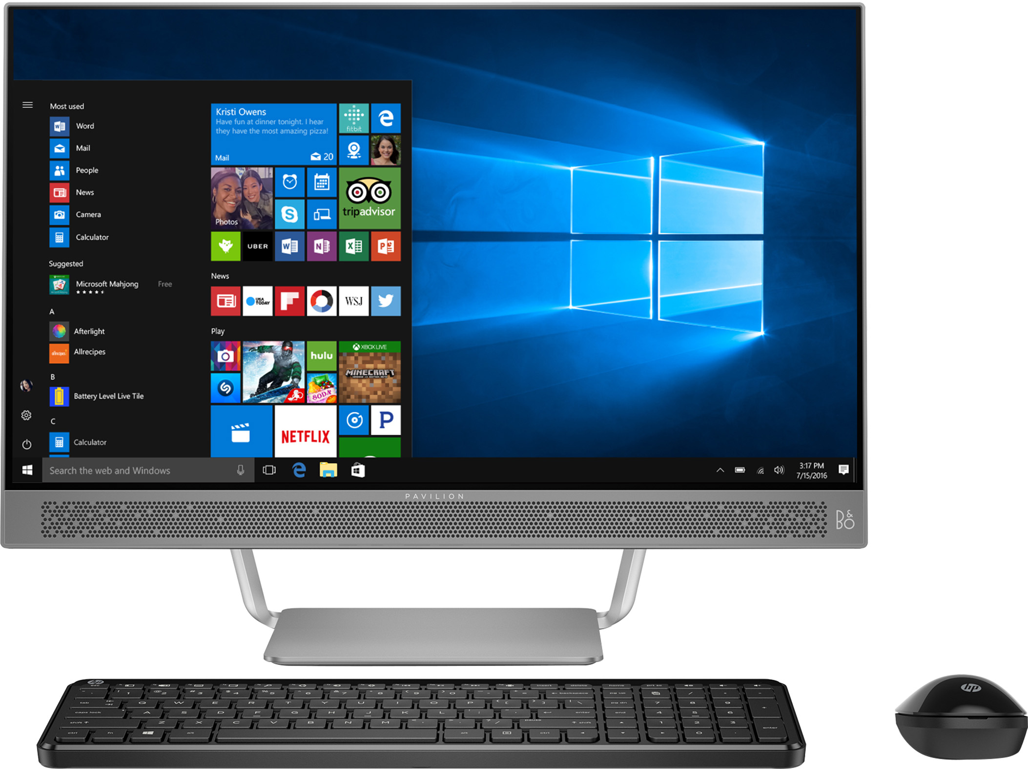 HP Pavilion 24-b011 Signature Edition All-in-One