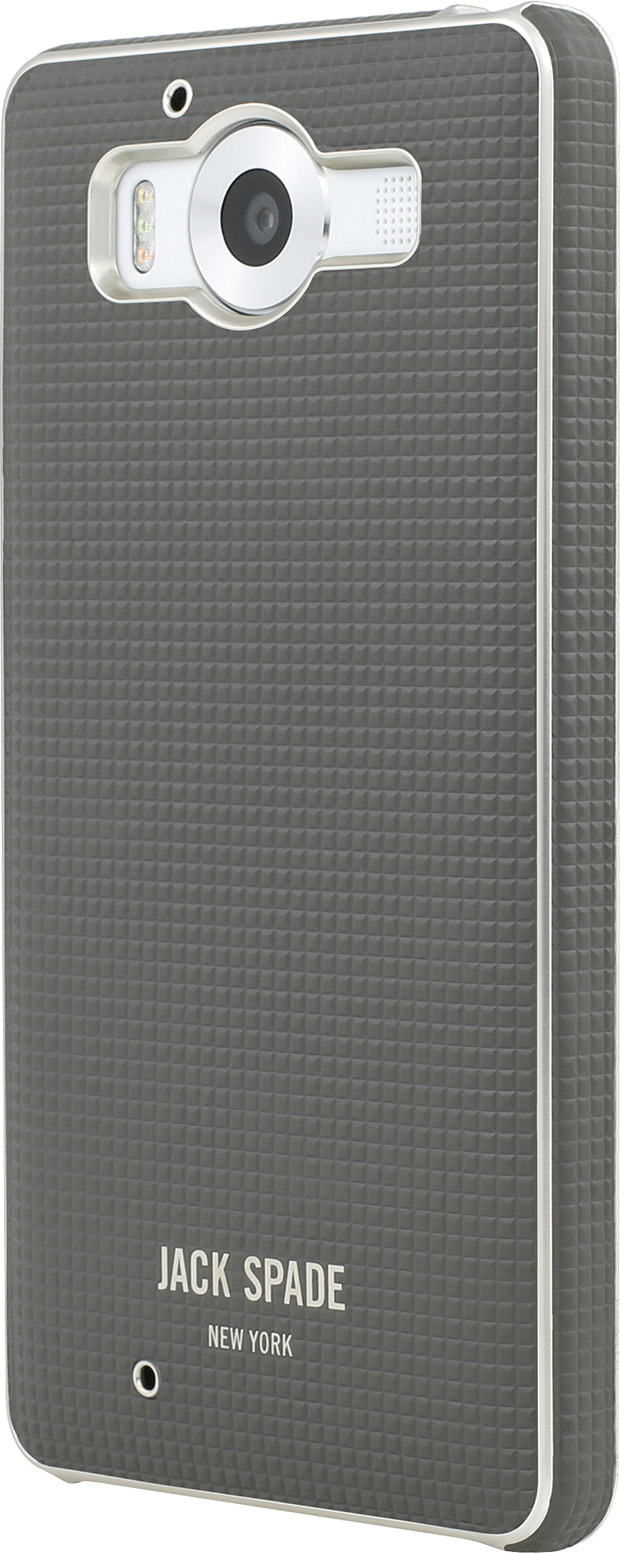 Incipio Jack Spade Wrap Case for Lumia 950 (Varick Gray)