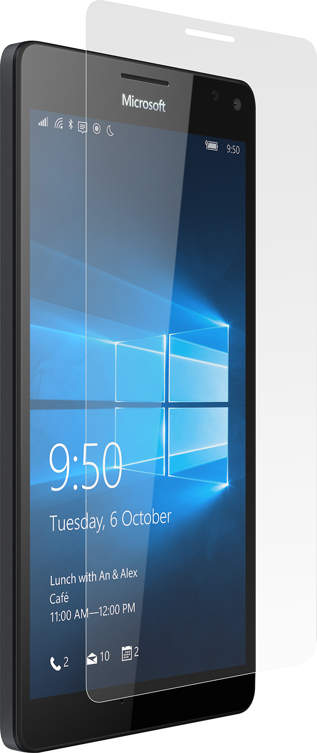 Lumia 950 XL PureGear Tempered Glass with Self Aligning Tray - High Definition
