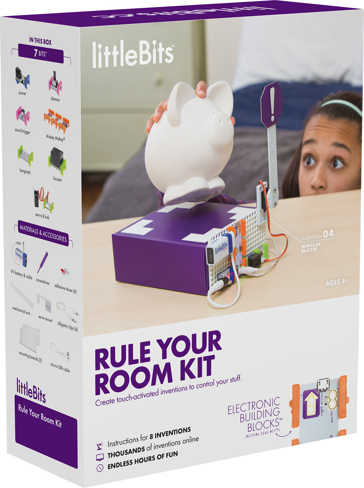 Ensemble Rule Your Room de littleBits