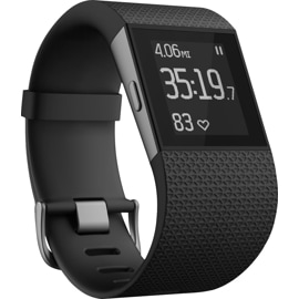 Fitbit Surge Fitness Superwatch (Black) - Small