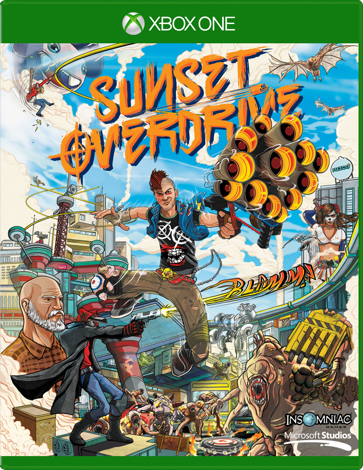 Sunset Overdrive Day One Edition for Xbox One