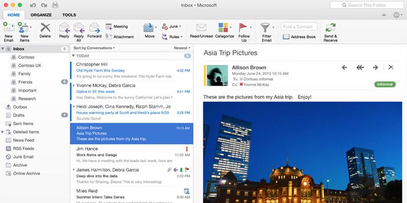 An Office screen shot
