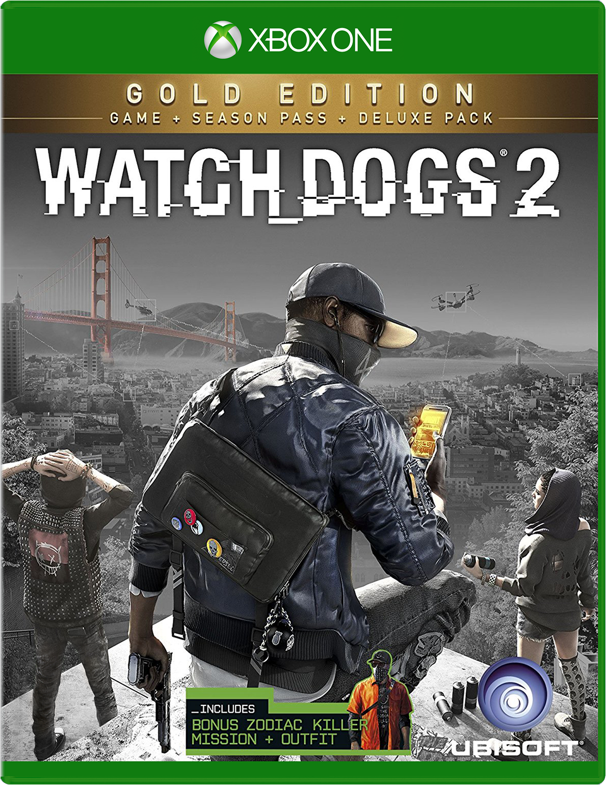 Watch Dogs 2 Gold Edition for Xbox One Deal