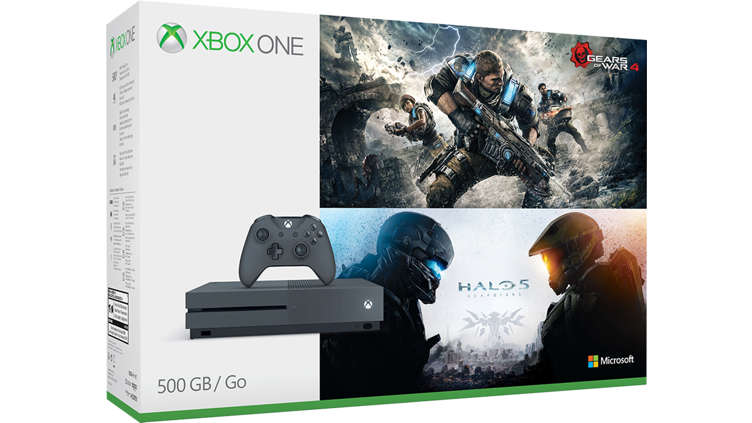 acheter console xbox one s de 500 go ensemble gears et. Black Bedroom Furniture Sets. Home Design Ideas