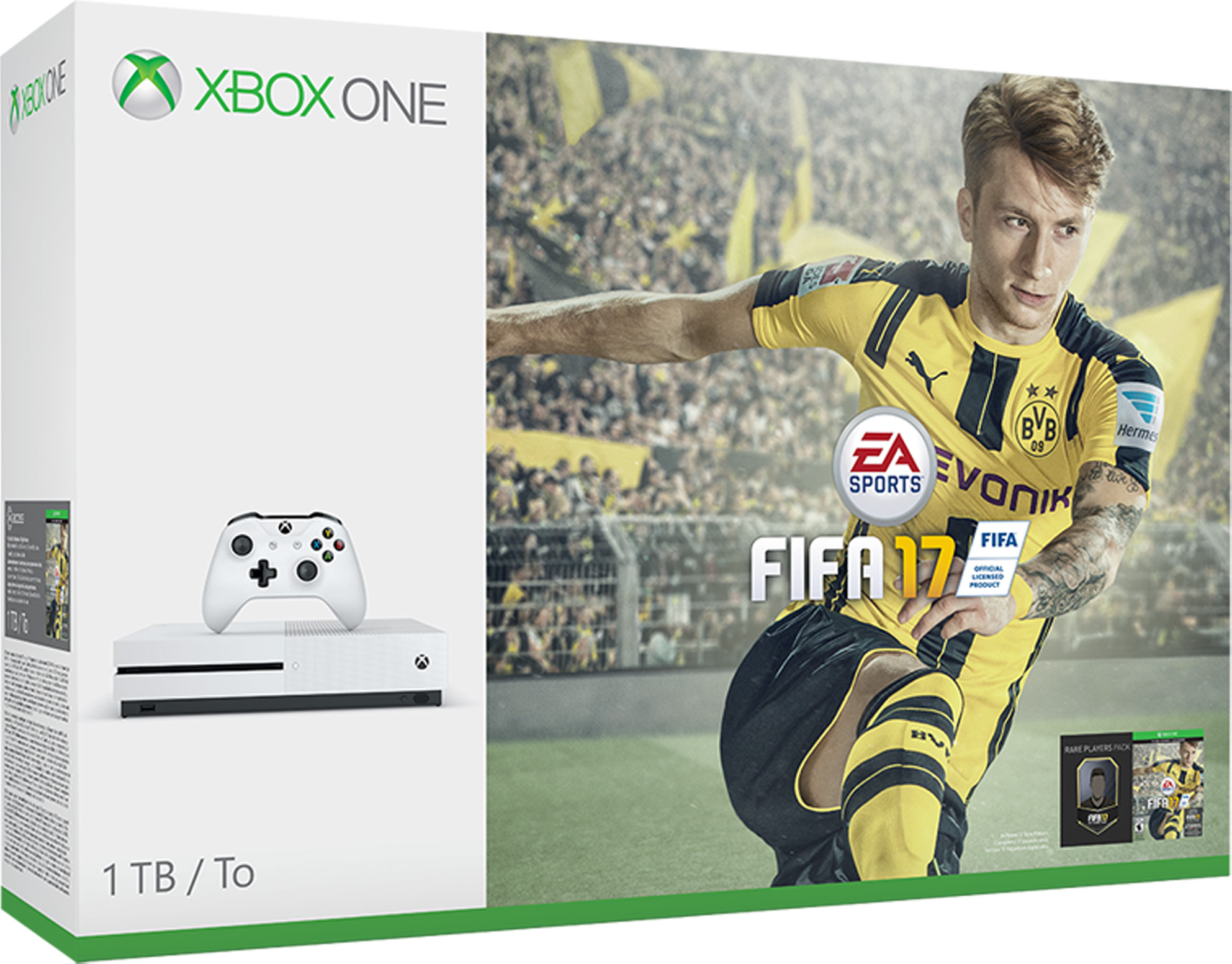 Xbox One S Console - FIFA 17 Bundle