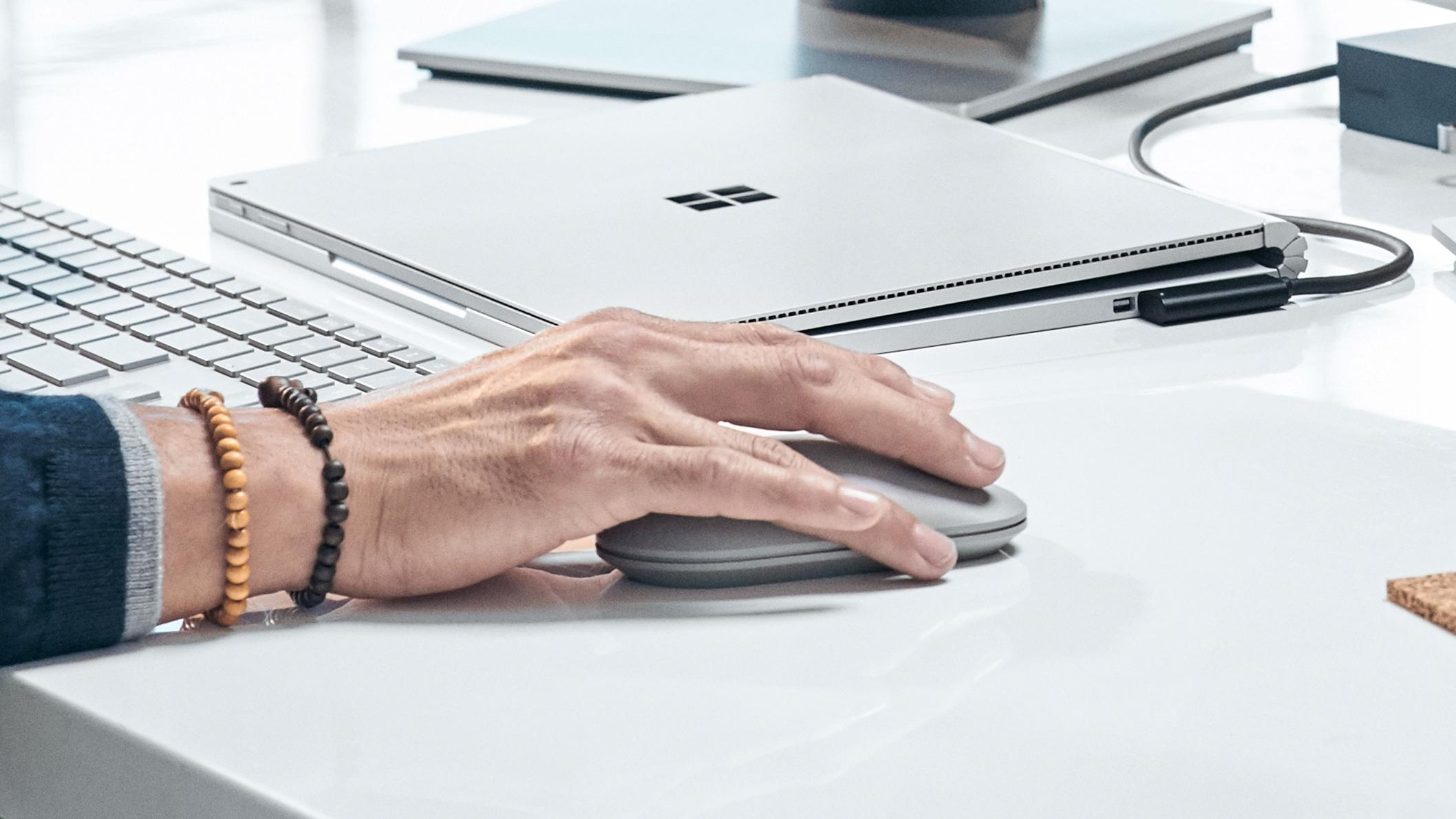 Kết quả hình ảnh cho Microsoft WS3-00001 Surface Mouse