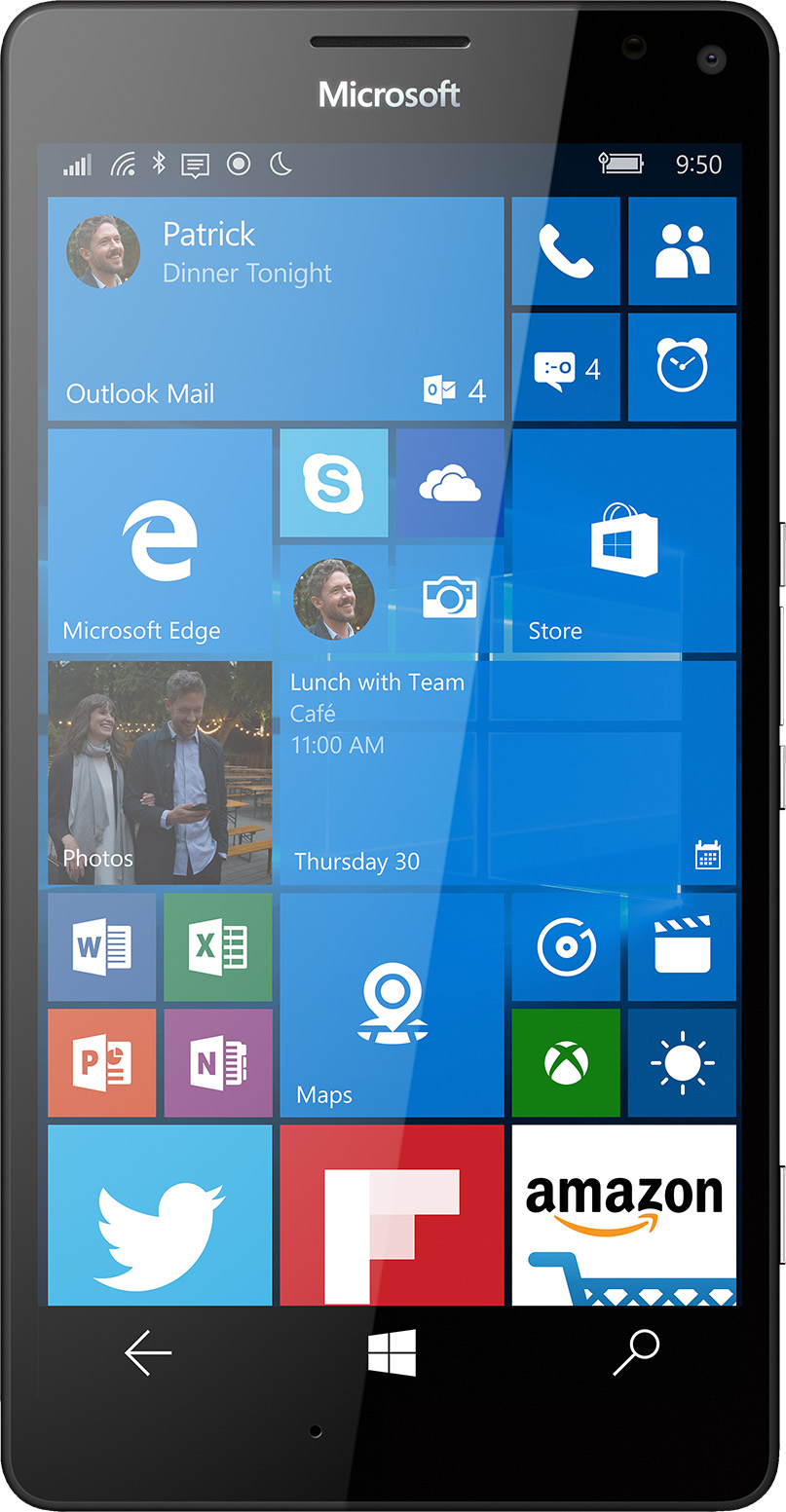 microsoft lumia 950. microsoft lumia 950 xl - unlocked (white) a