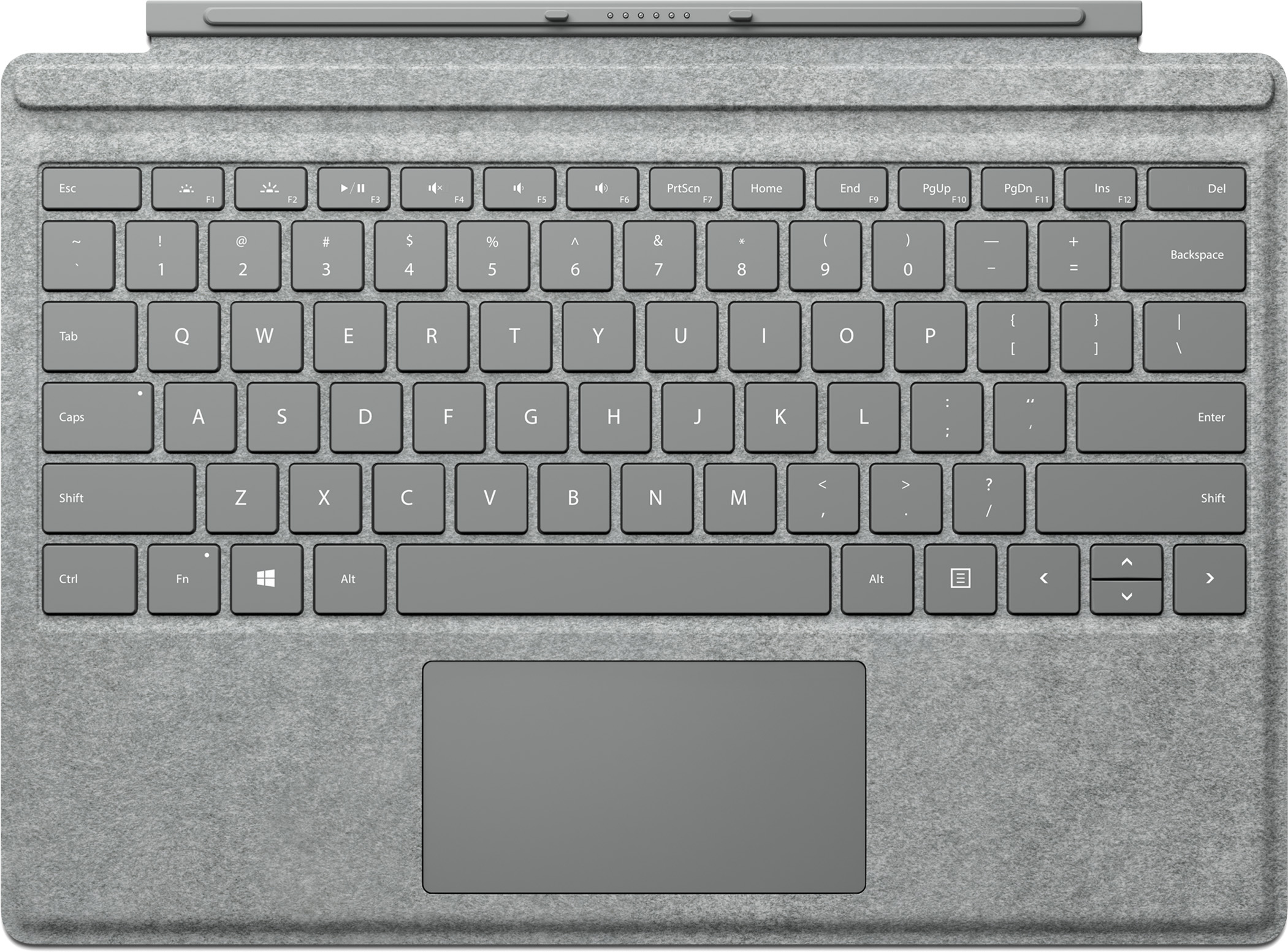 Surface Pro Signature Type Cover (Gray)