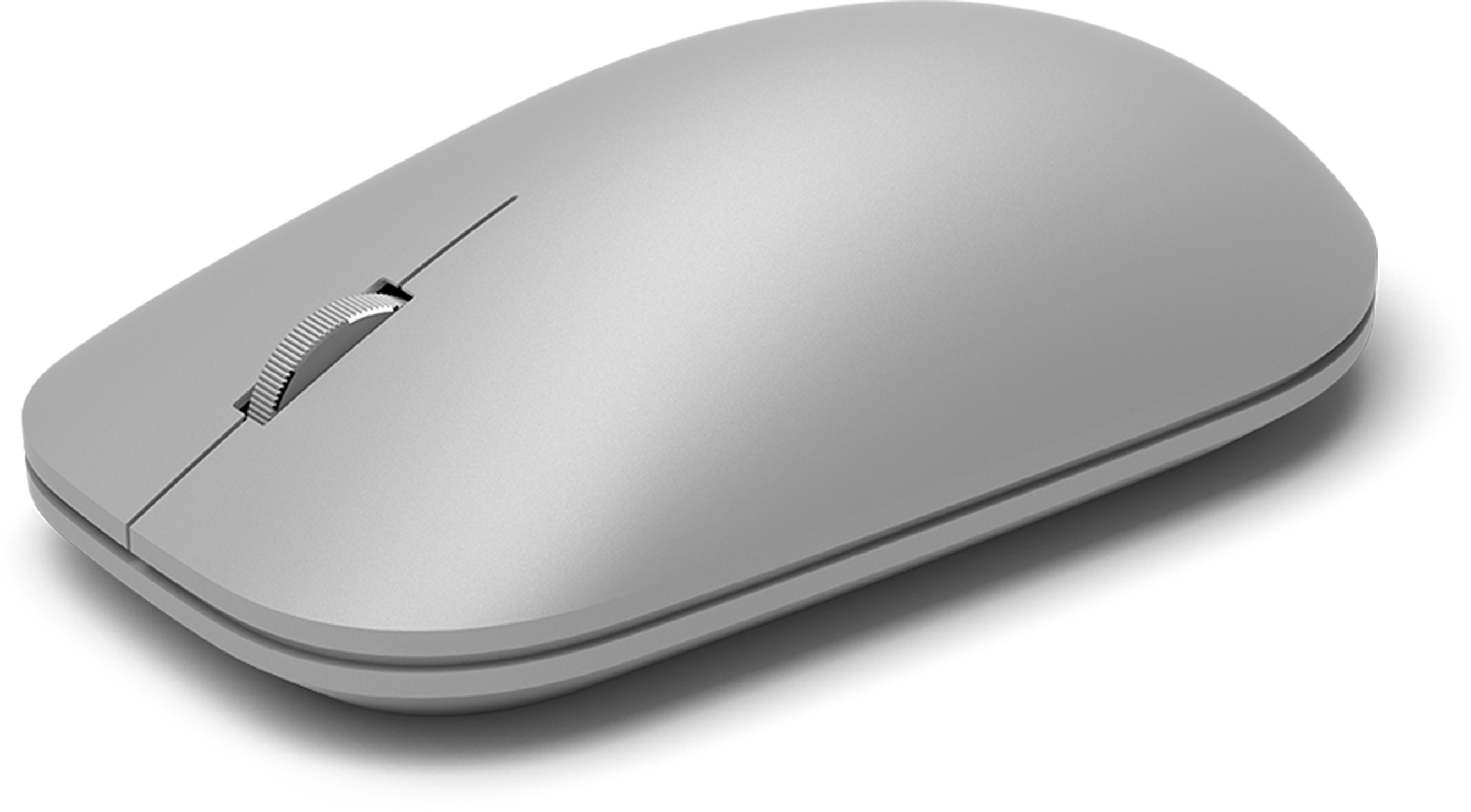 Surface Mouse Meticulously crafted, just like Surface Sleek, simple design Metal scroll wheel Bluetooth 4.0