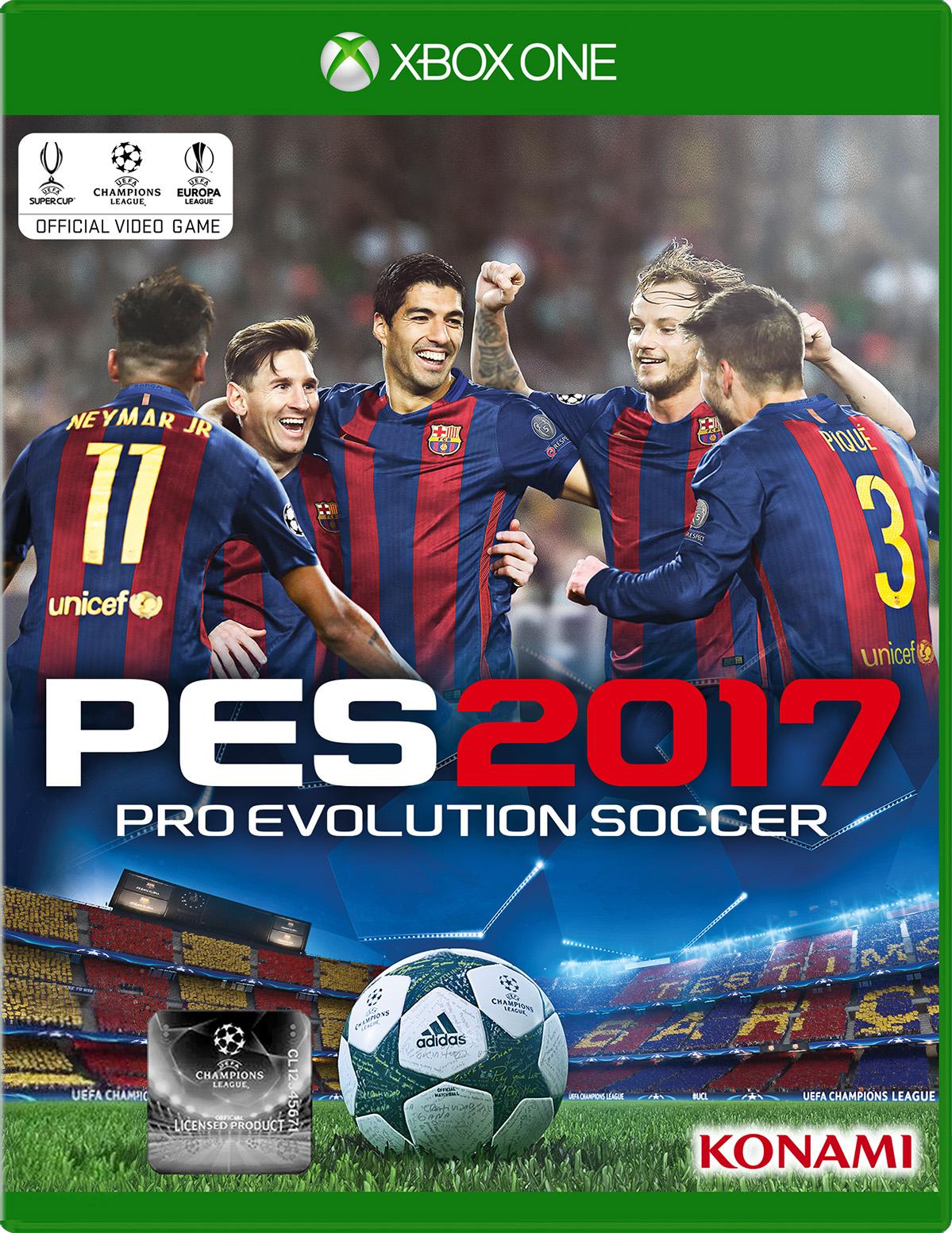 Pro Evolution Soccer 2017 for Xbox One