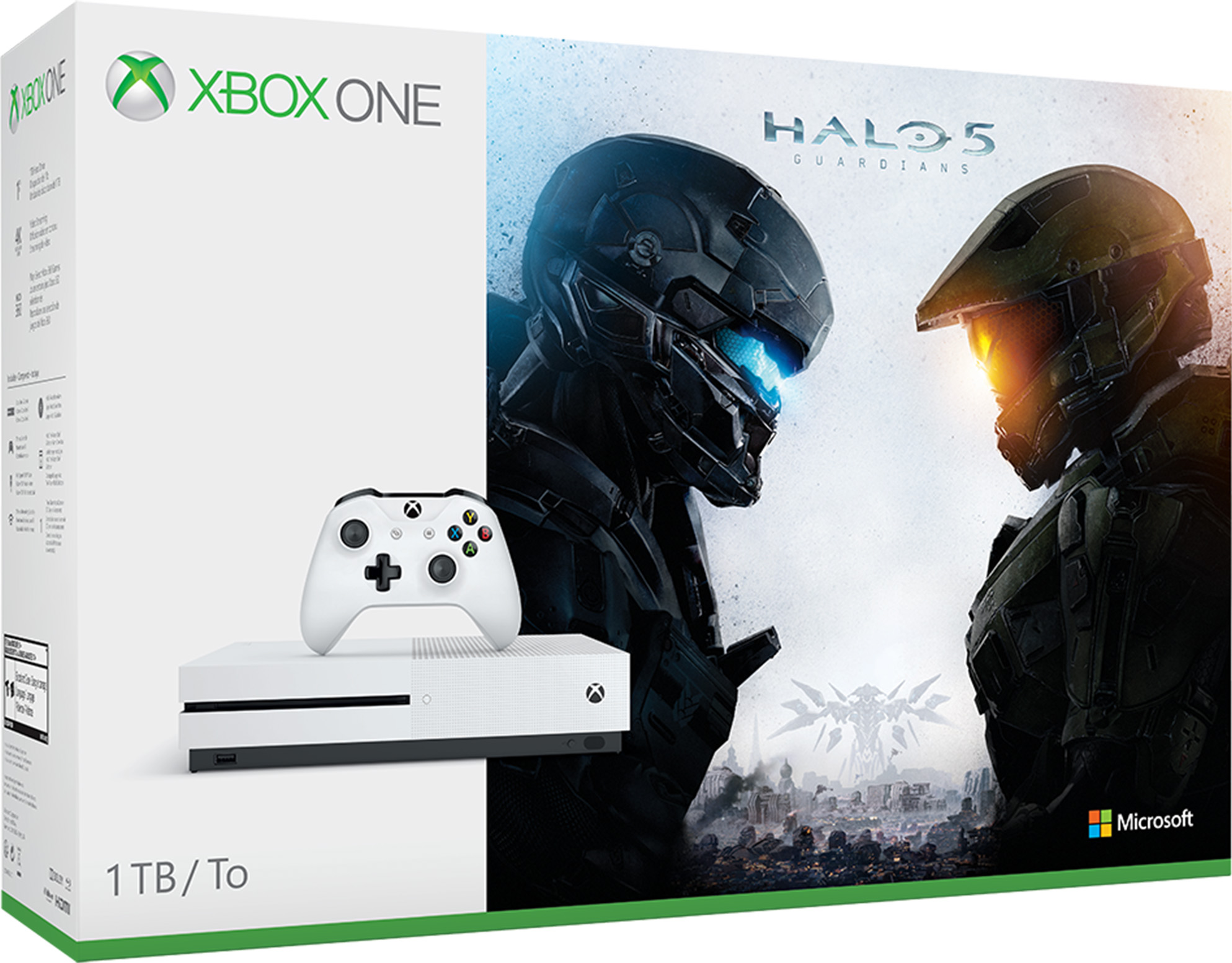 Xbox One S Console - Halo Collection Bundle