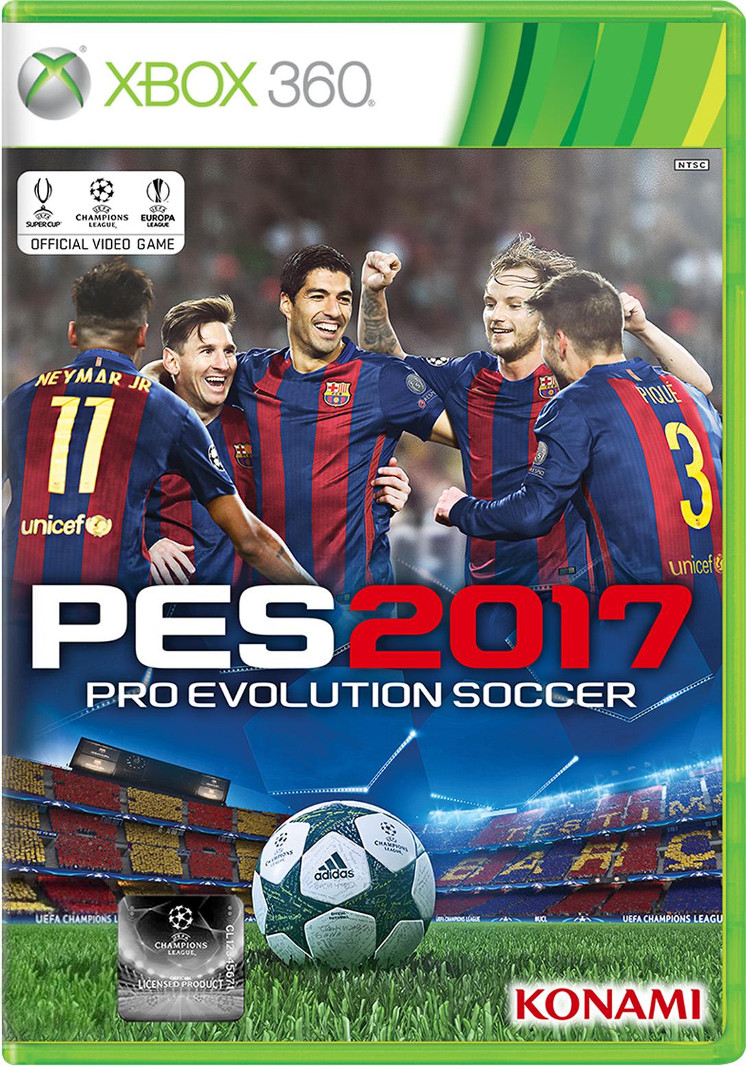 Pro Evolution Soccer 2017 for Xbox 360