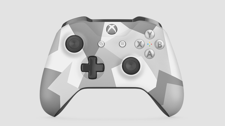Xbox Halo Fractal Controller | Manette Xbox fractale Halo