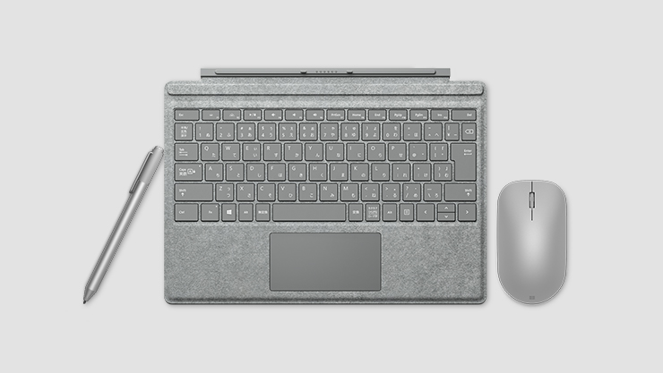 Signature edition Surface type cover with accessories | Clavier Type Cover édition Signature pour Surface avec accessoires