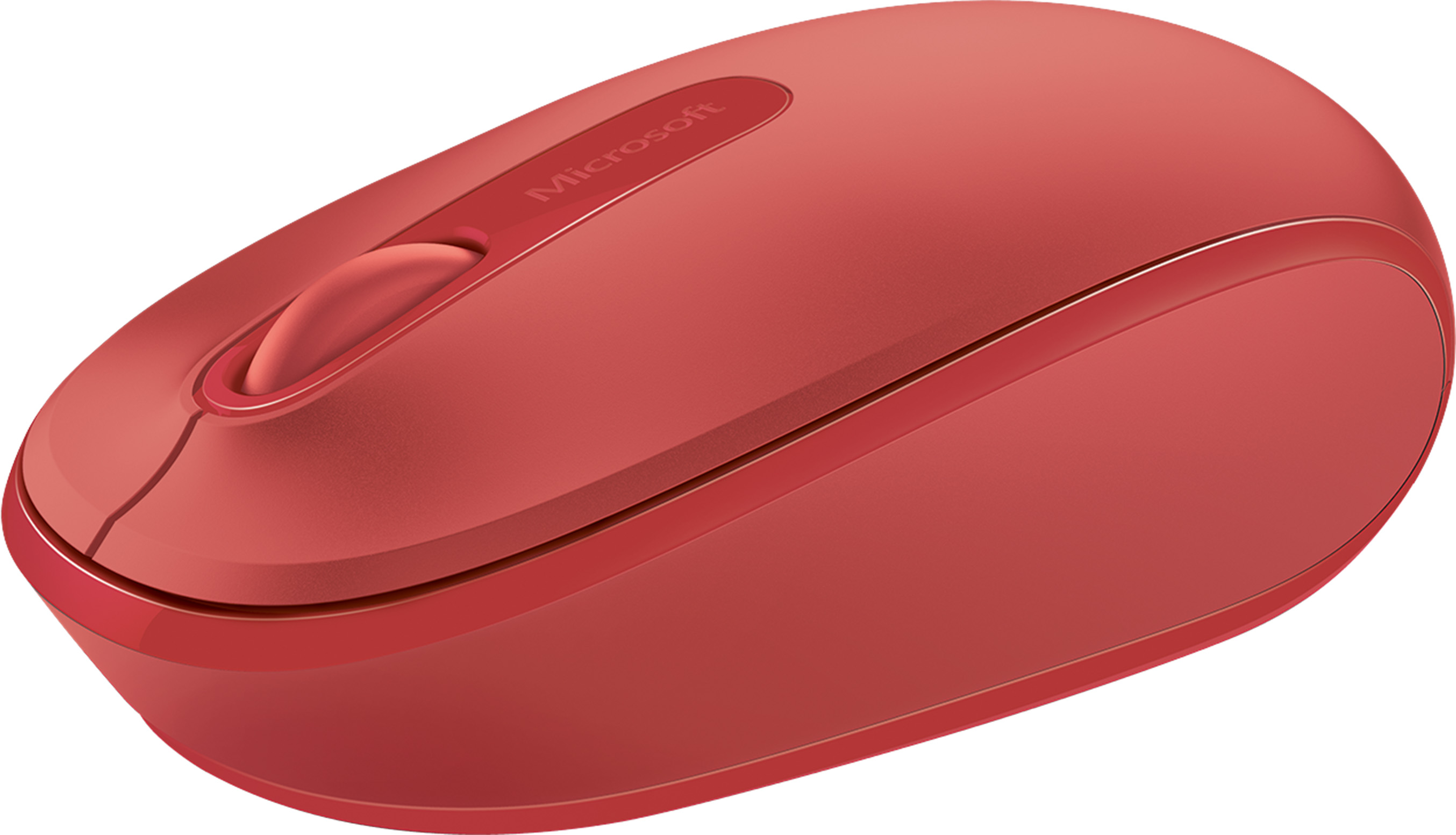 Microsoft Wireless Mobile Mouse 1850 (Flame Red)