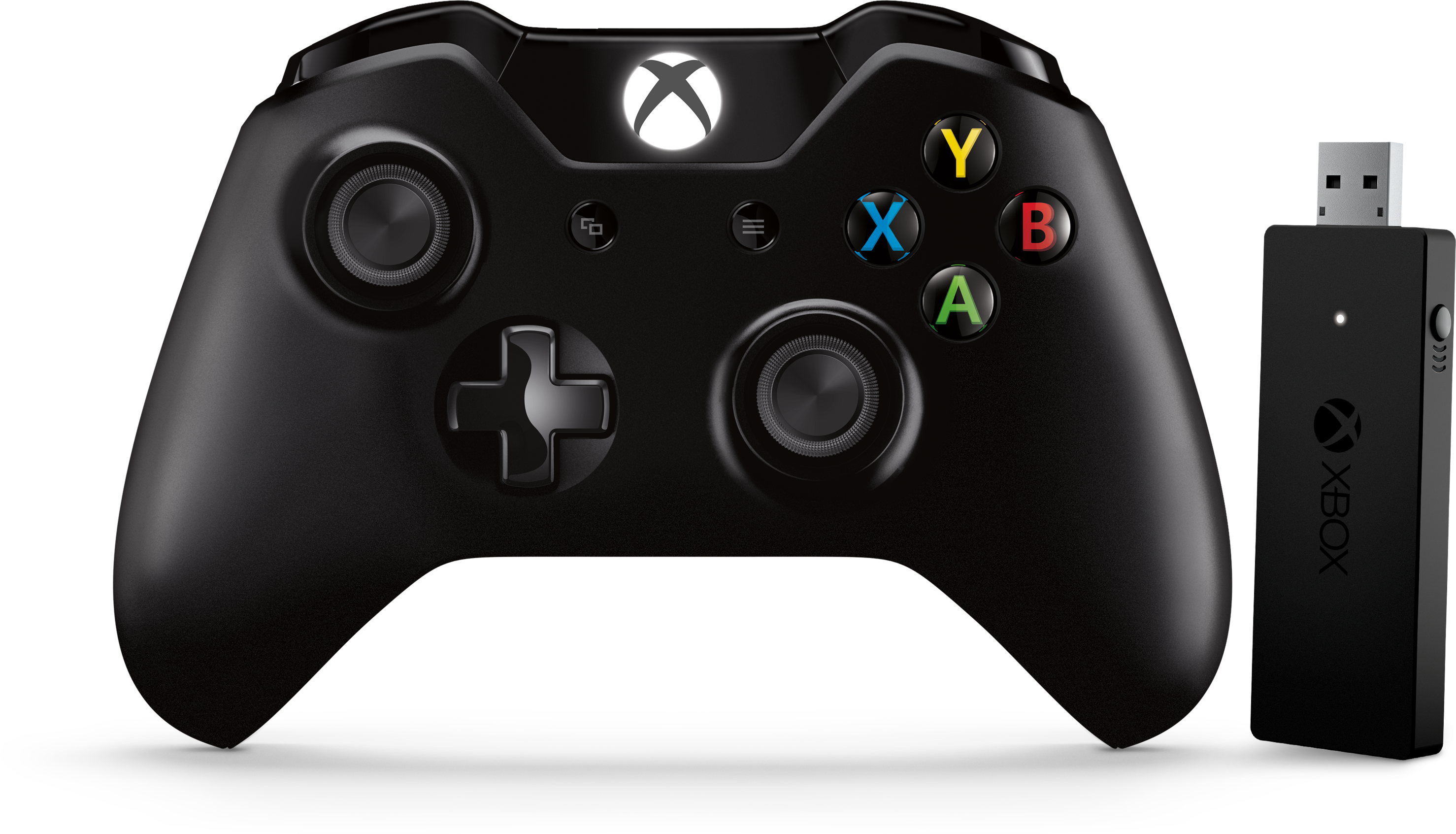 Xbox Controller and Wireless Adapter for Windows | Manette Xbox et adaptateur sans fil pour Windows