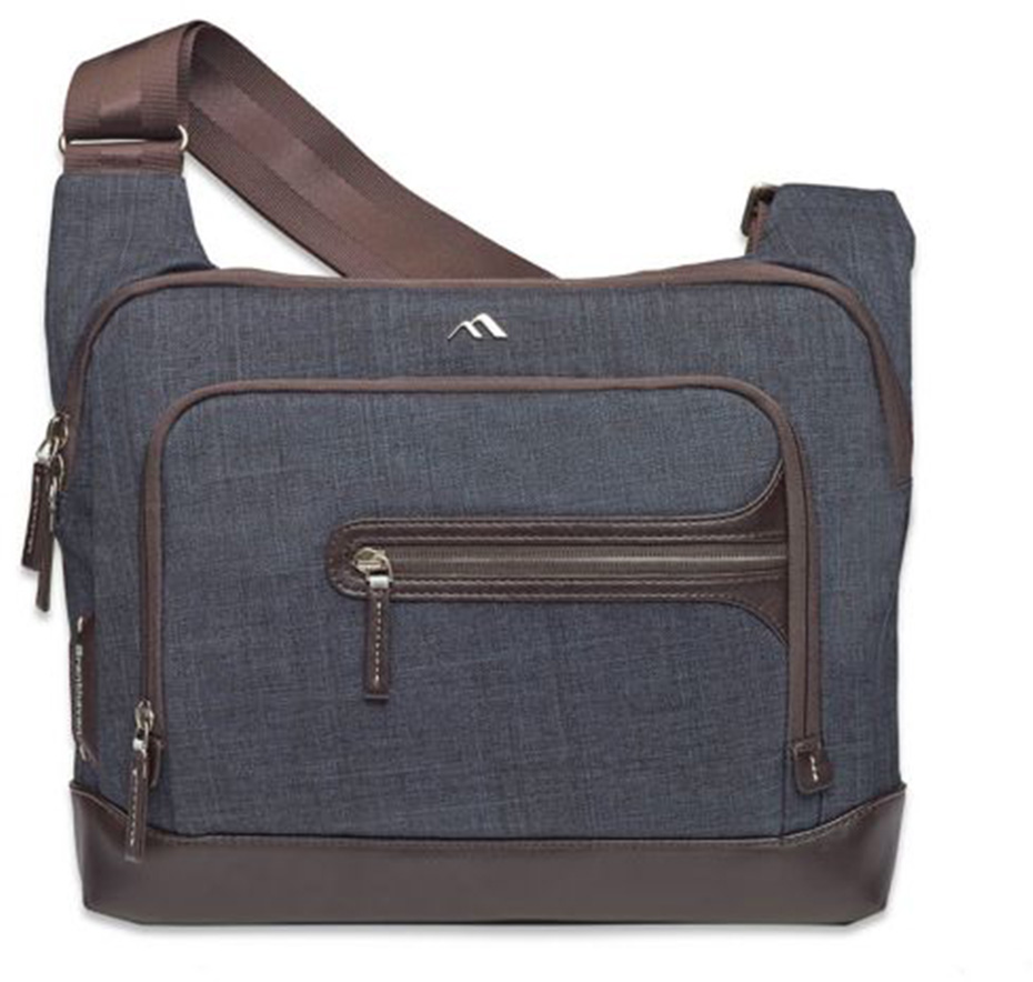 Brenthaven Collins Courier Bag (Indigo)