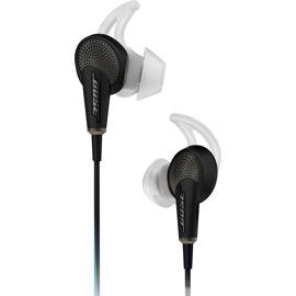 Bose QuietComfort 20 Acoustic Noise Cancelling Headphones (Black) front view