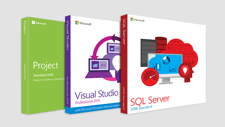 """Business software including Microsoft Project 
