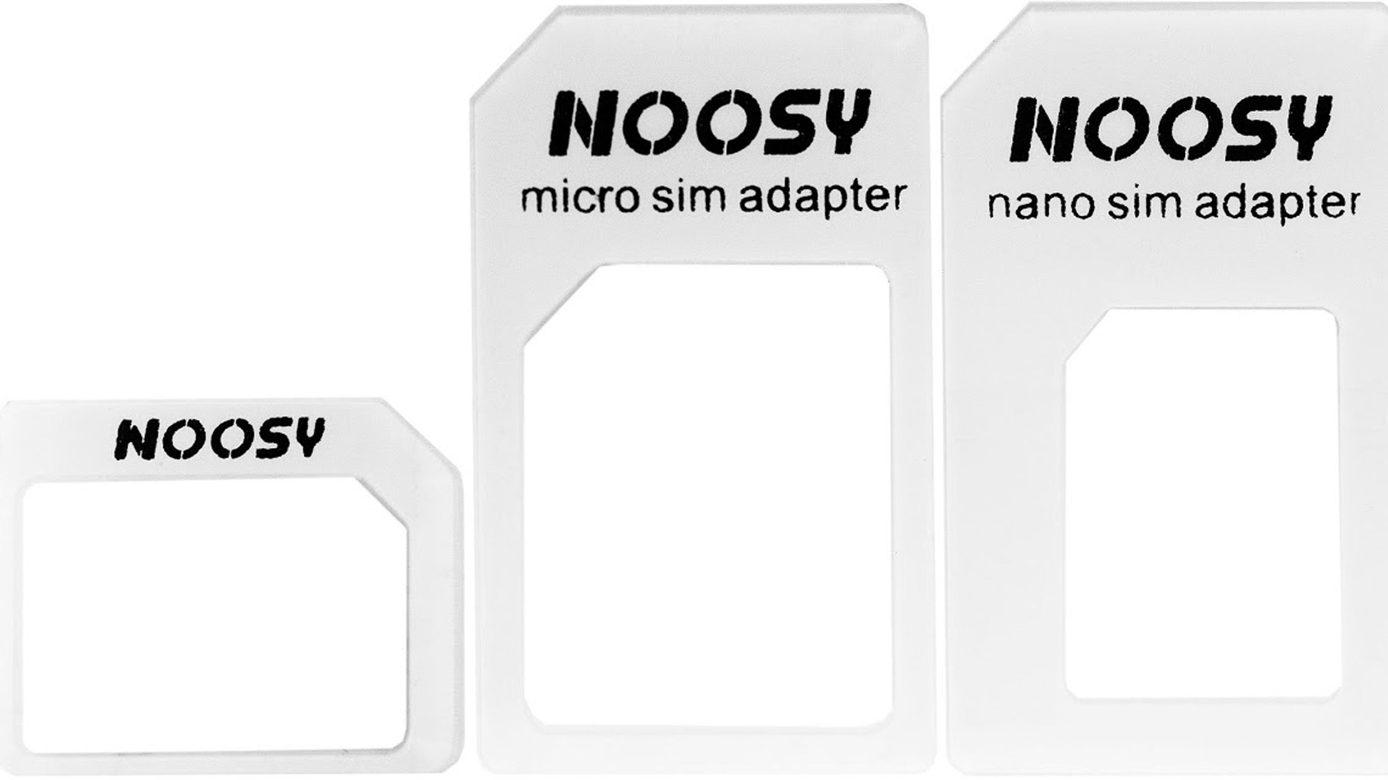 Noosy SIM Adapter 3 in 1 Kit