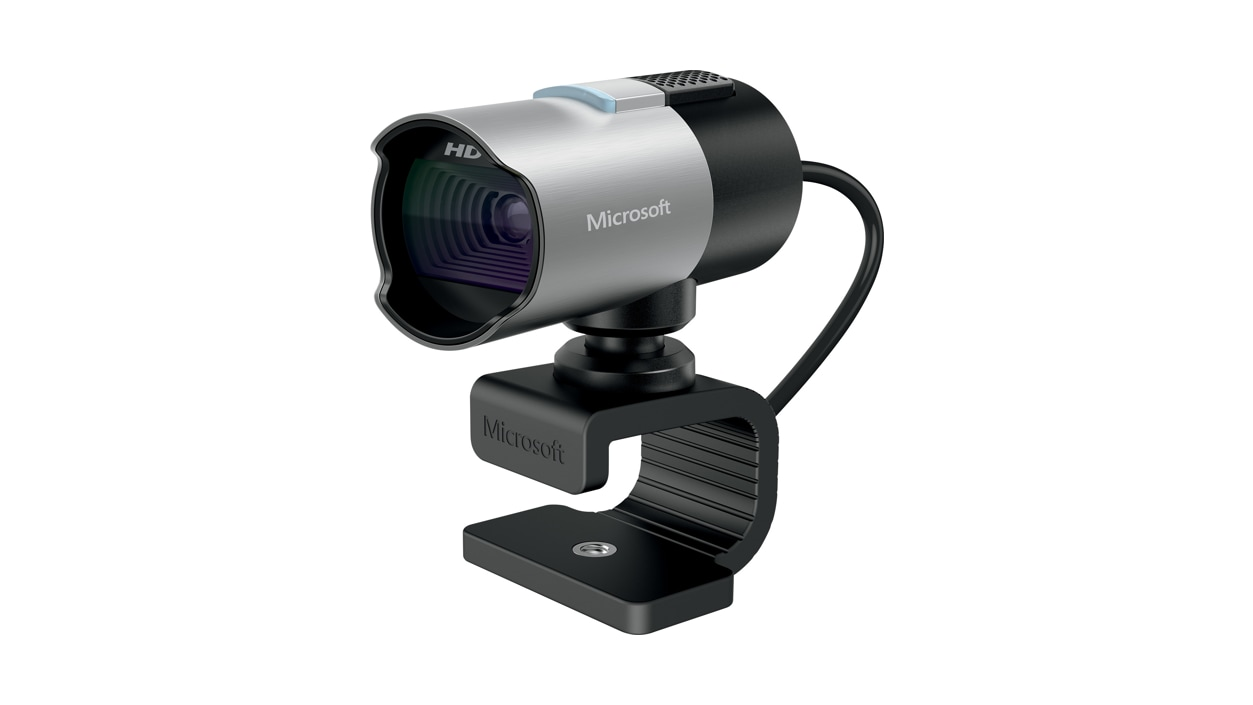 Front right angle of LifeCam Studio.