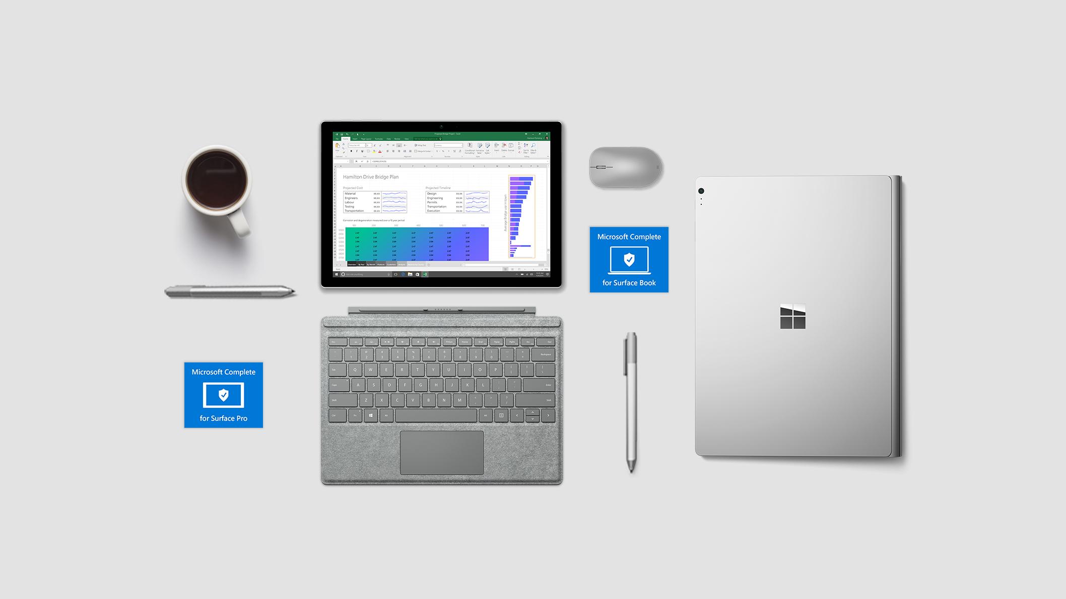 Appareils Surface et Microsoft Complete