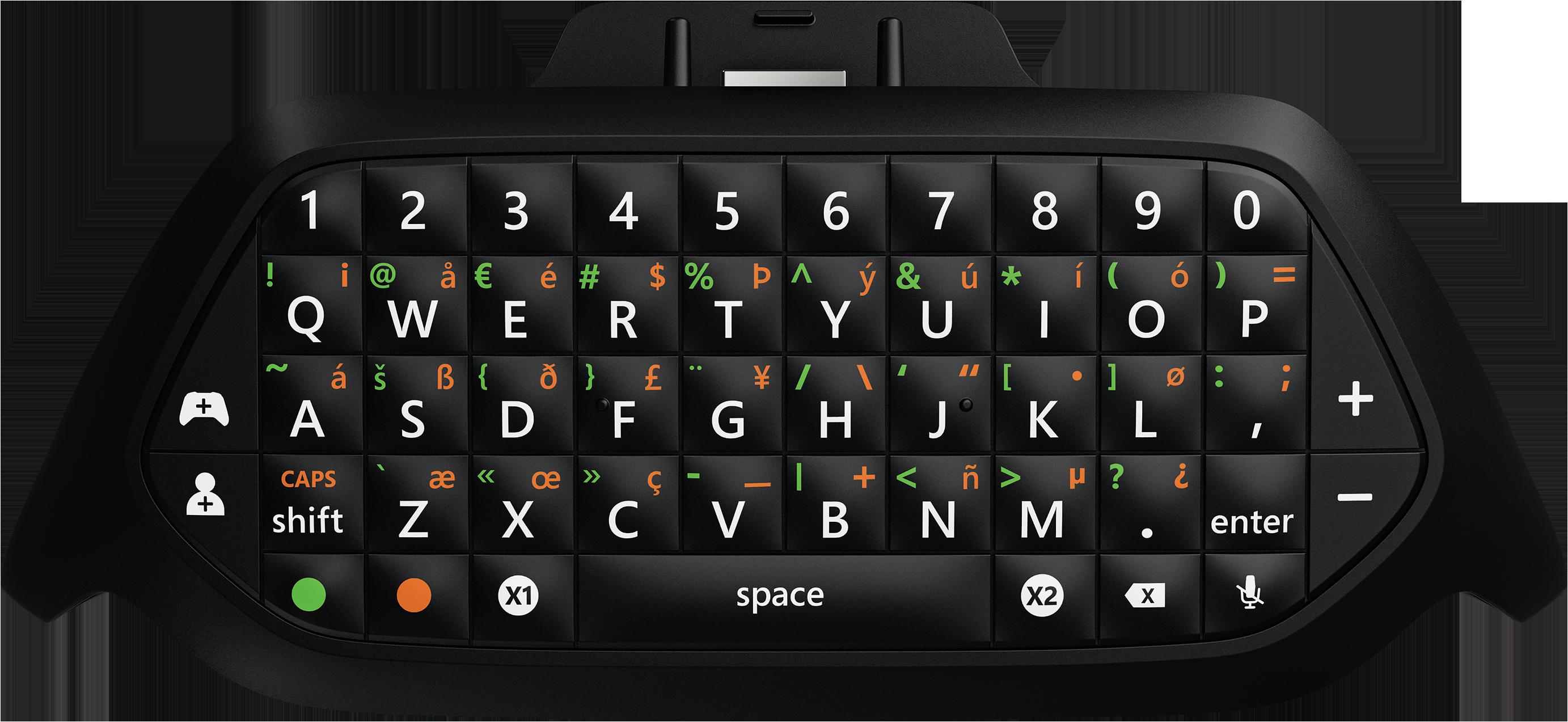 Clavier Messenger pour Xbox