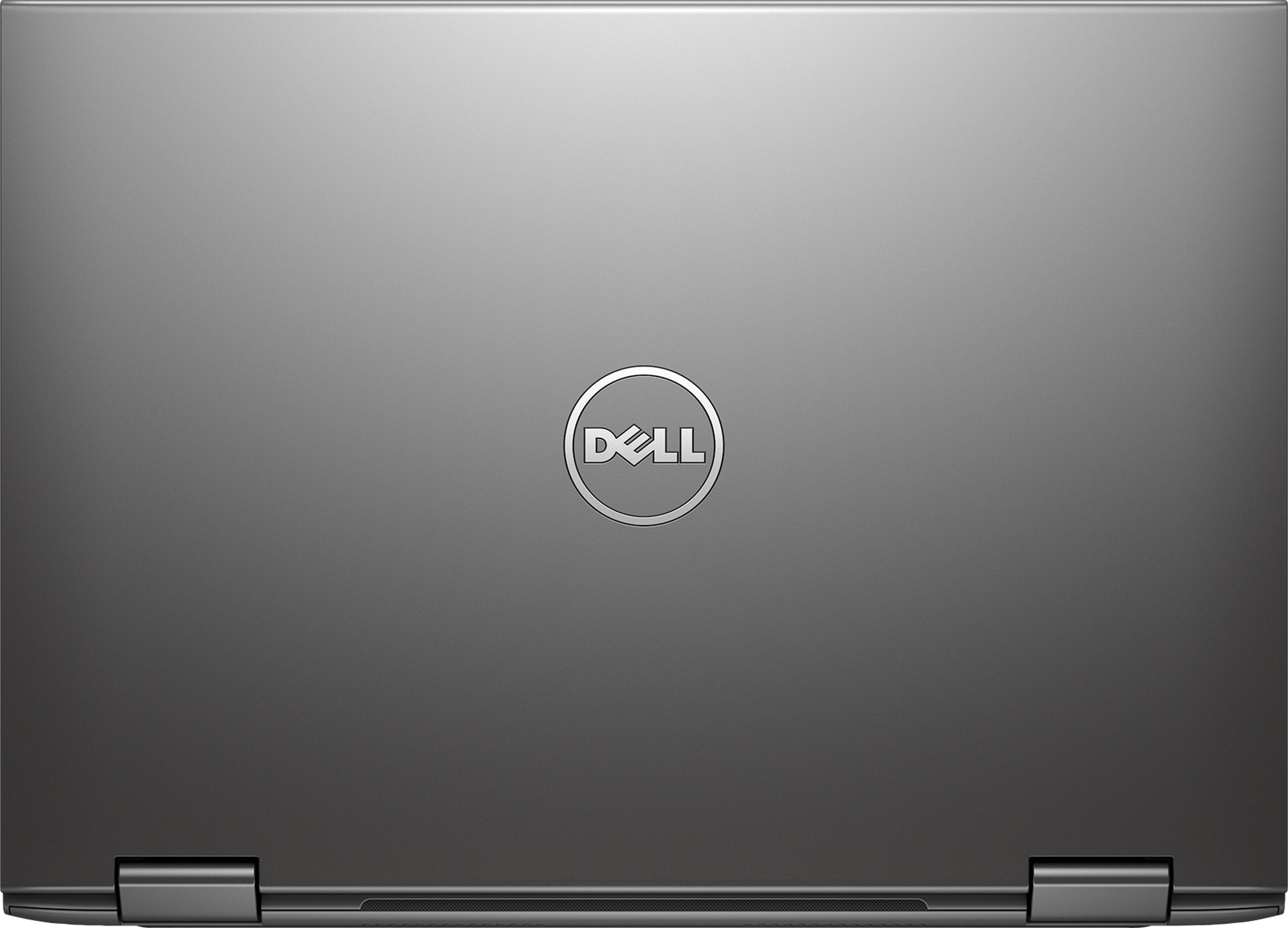 dell inspiron 13 signature edition 2 in 1 pc opened showing back of computer