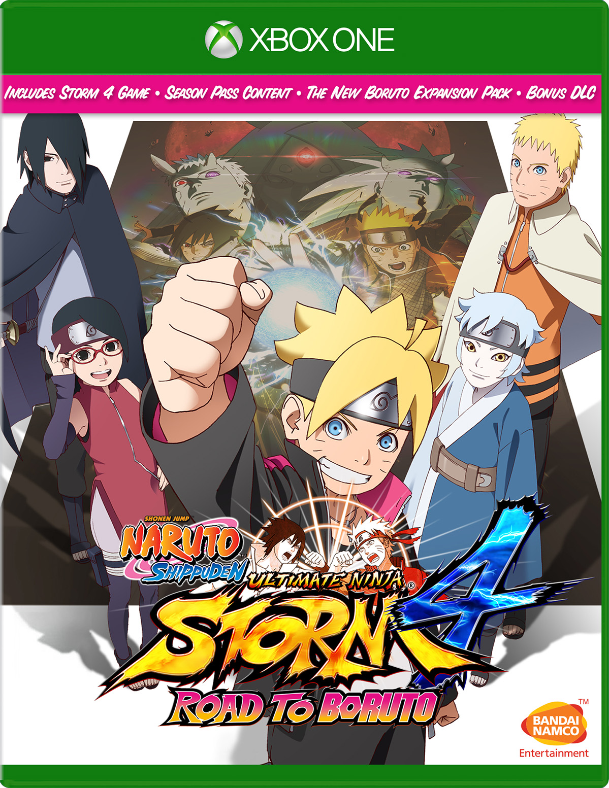 Namco Naruto Shippuden Ultimate Ninja Storm 4 : Road to Boruto German Xbox One