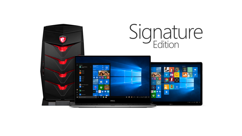 Signature Edition Computers Featuring A Desktop
