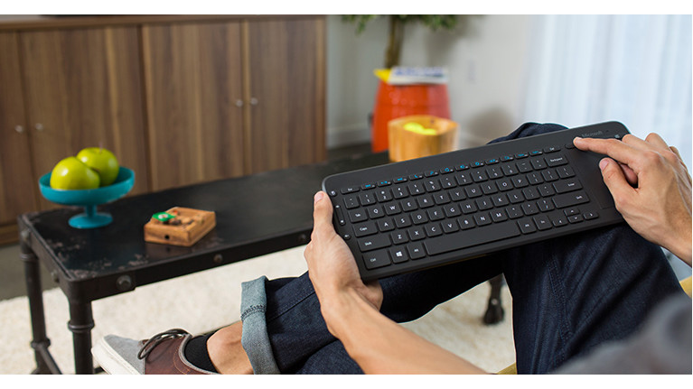 Microsoft All in One Media Keyboard |