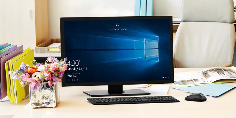 A desktop PC running Windows 10