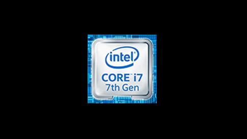 Intel core i7 7th gen.