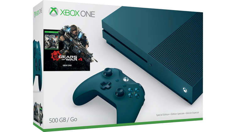 Buy Xbox One S Console Gears Of War 4 Bundles