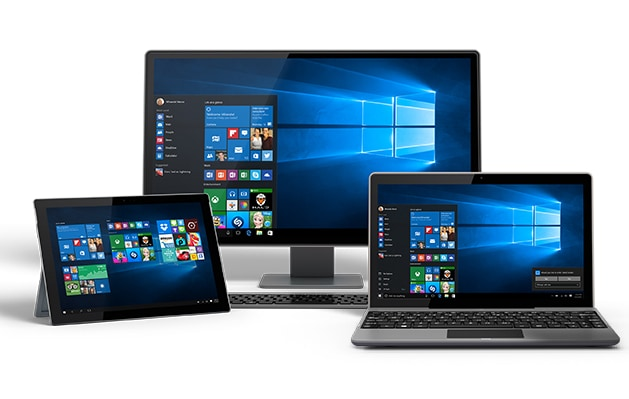 Multiple devices running Windows 10